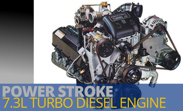 Power Stroke 7.3 Liter Diesel Engines